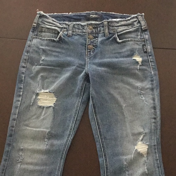 Silver jeans, AIKO boot CROP, like new